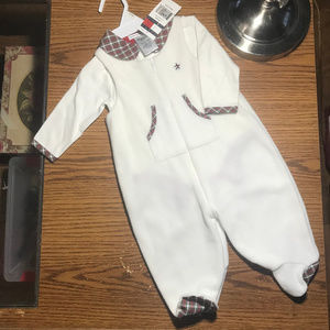 Tommy Hilfiger l/s onesie & footed romper 3-6M NWT